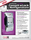 Click here to download a pdf of the CompX eLock 150 Series *Refrigerator* sheet