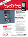 Click here to download a pdf of the CompX eLock 150 *Cabinet* series sheet
