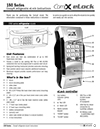 Click here to download a pdf of the CompX eLock 150 Series Refrigerator Instructions