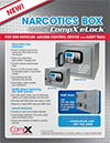 Click here to download a pdf of the CompX eLock Narcotics Box sheet