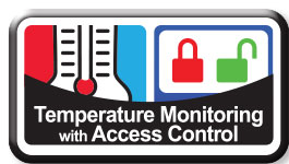 CompX eLock: Temperature Monitoring with Access Control